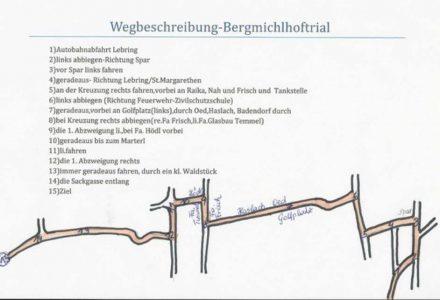 Zufahrtskizze Bergmichlhof